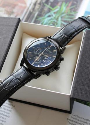 Мужские наручные часы patek philippe total black