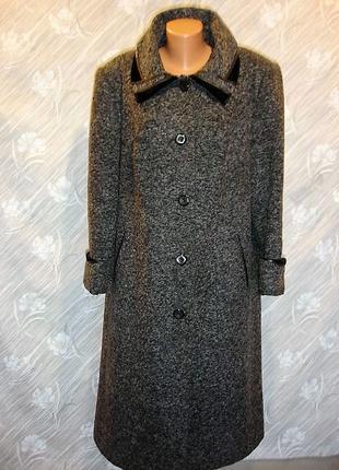 "Шерстяное пальто "" trade mark"" (80%-шерсти) 16-18 р"