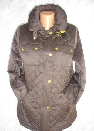 Демисезонная стеганная куртка 48-50 р. сток