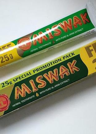 Зубная паста без фтора мисвак (misvak) египет 75грамм