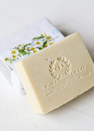 Оливковое органическое мыло ромашковое (детская серия e&a pure...