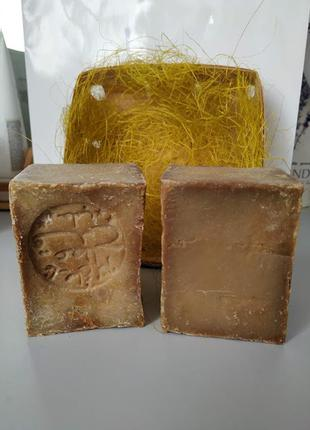 Натуральное оливковое мыло aleppo(алеппо) 200грамм 5%