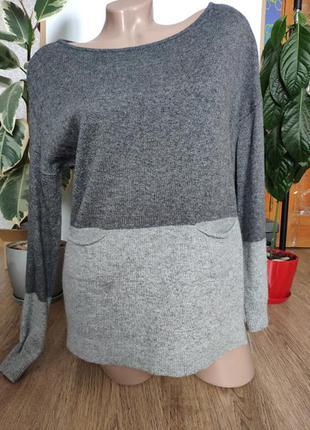 Свитер, пуловер с шерстью и ангорой