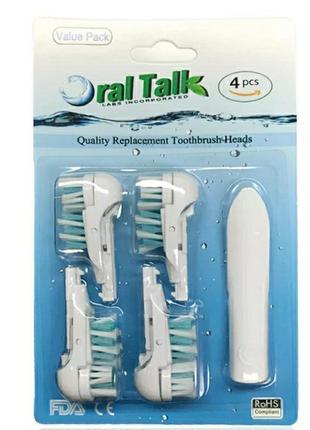 Oral b. сменные насадки для замены oral-b cross action dual cl...