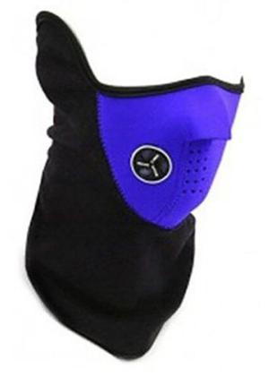 Теплая защитная маска x-ports warm face вело мото для шеи лица...