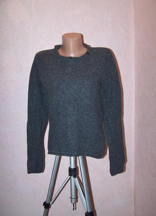 Мужской  свитер replay 86%шерсть
