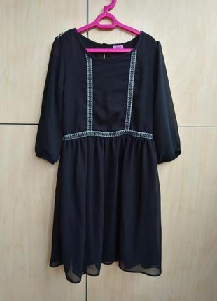 Стильное платье f&f на 8-9 лет
