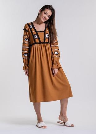 Платье-вышиванка 42-50 р