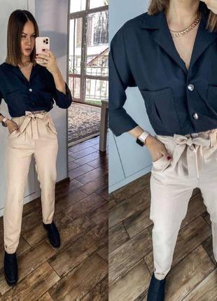 Класический брючный костюм/офисный костюм рубашка и штаны/брюк...