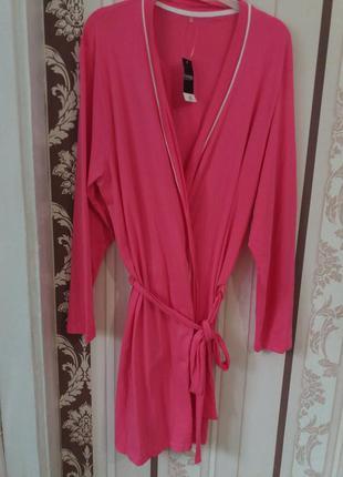 Розовый халат george