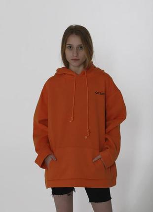 Женское худи collnction оранжевое
