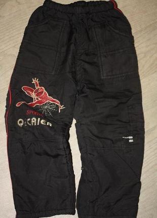 Зимние термо-брюки для  мальчика от 2 до 4лет ,хорошее