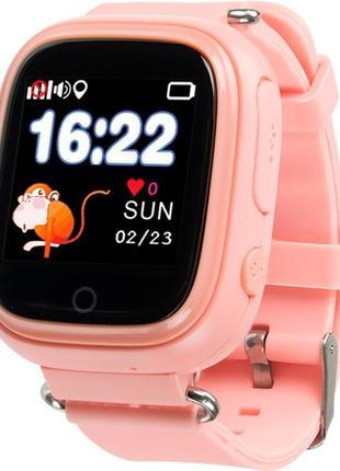 Детские водонепроницаемые телефон-часы с GPS трекером Motto TD-02