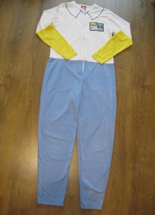 Пижама кигуруми домашний комбинезон халат м-л наш 44-46 рост д...