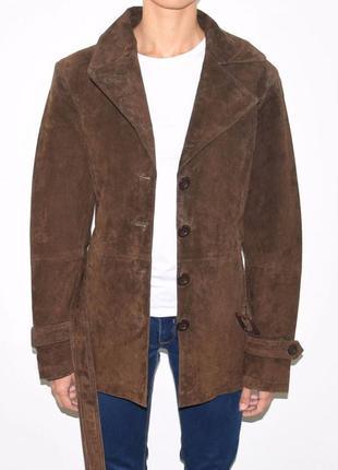 Женская куртка из натуральной кожи. tchibo.