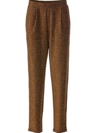 Нарядные брюки чинос с люрексом  на любой праздник united colo...