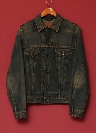 Levis рр m jacket куртка из хлопка оригинал.