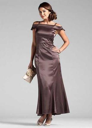 Очень элегантное вечернее платье разм 42-48 b.r.c