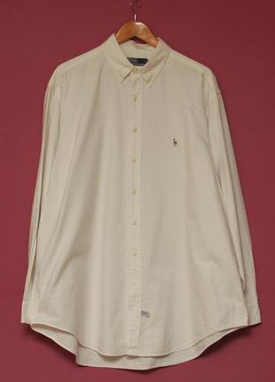 Polo ralph lauren 17 1/2 xl-xxl yaramouth cotton