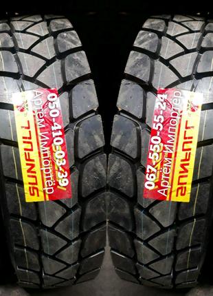 Продам шины 315/80R22.5 строительным протектором