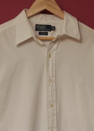 Polo ralphl lauren рр xl 16 1/2 42 andrew cotton рубашка