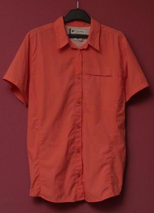 Columbia titanium рр xl треккинговая рубашка из нейлона