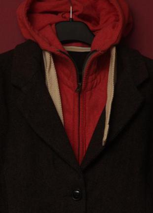 Superdry jpn рр m пальто блейзер из шерсти трансформер