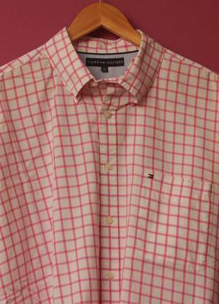 Tommy hilfiger рр xxl рубашка из хлопка 2-ply