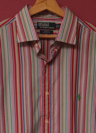 Polo ralph lauren l 17 1/2 regent shirt рубашка из хлопка