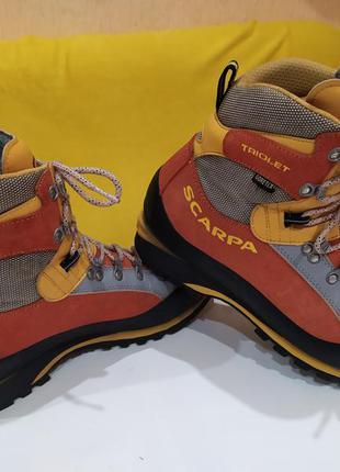 Ботинки трекинговые scarpa triolet pro gtx