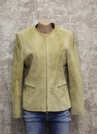 Пиджак из натуральной замши biba pariscop 44-46