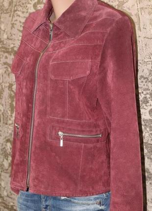 Пиджак из натуральной замши piano women 46-48