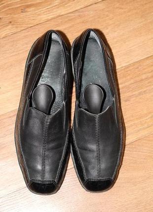 Шикарные кожаные туфли ara 38 разм