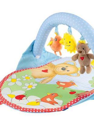 Детский игровой развивающий коврик lupilu