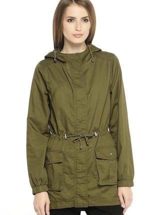 Женская куртка ветровка парка house zara bershka h&m
