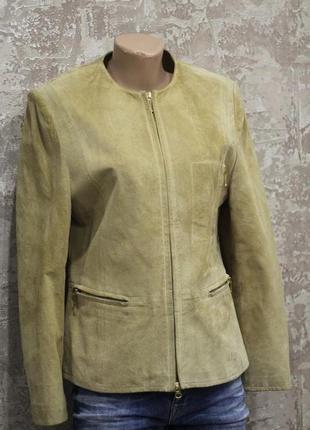 Пиджак из натуральной замши biba pariscop