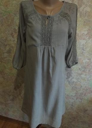 Лёгкое летнее платье. натуральная ткань