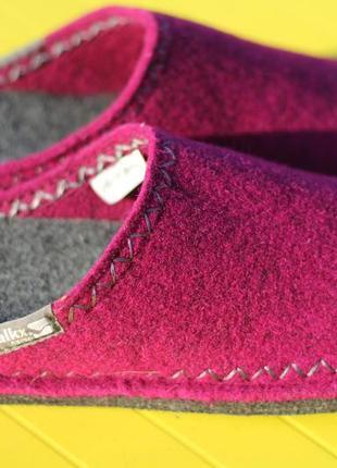 Шикарные новые чисто шерстяные тапочки walkx германия