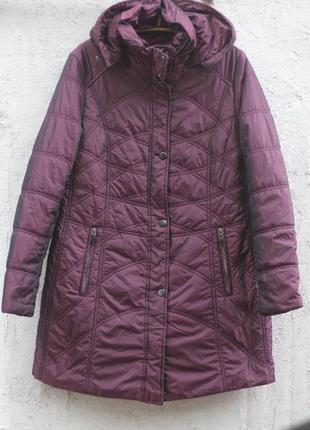 Фирменная пальто куртка утепленная германия