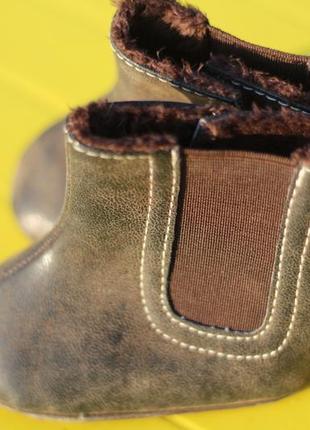Детские тапочки-валеночки на меху