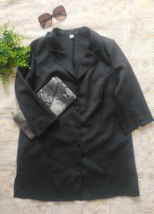 Классический базовый лёгкий жакет пиджак