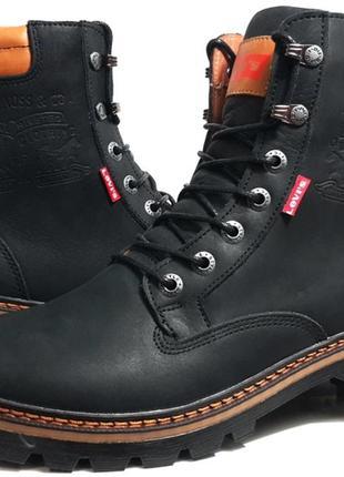 Мужские ботинки, сапоги зимние. брендовые полусапоги