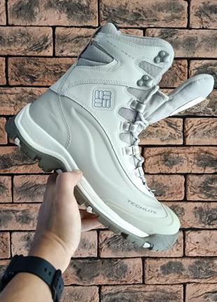 Оригінальні зимові ботінки кросівки columbia omni-heat