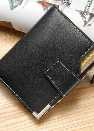 Мужской кошелек baellerry carteira mini черный