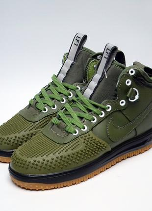 Ботинки зимние мужские Nike Air Lunar Force Duckboot Green
