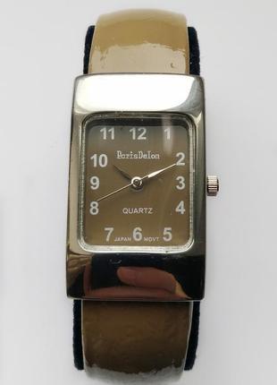 Paris delon часы из сша стальной браслет механизм japan sii