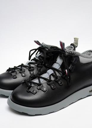 Ботинки зимние мужские Native Fitzsimmons Black/Grey