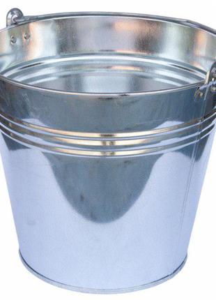 Ведро оцинкованное 12 и 15 литров (ОПТ и розница)