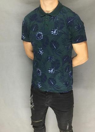 Мужская футболка поло от peacocks (#2f180)