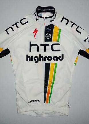Велофутболка велоформа moa htc highroad team jersey italy spec...